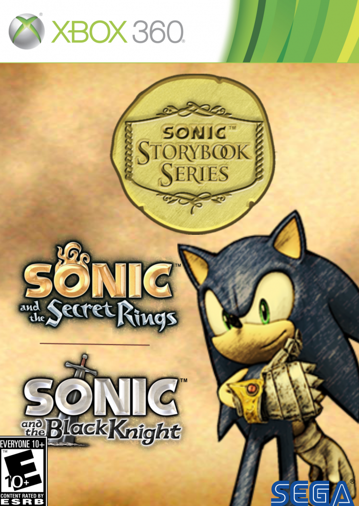 Sonic Storybook Collection box art cover