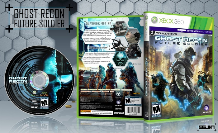 Room Cover Ghost Recon Ghost Recon Future Soldier Wii: Ghost Recon: Future Soldier Xbox 360 Box Art Cover By SGJin