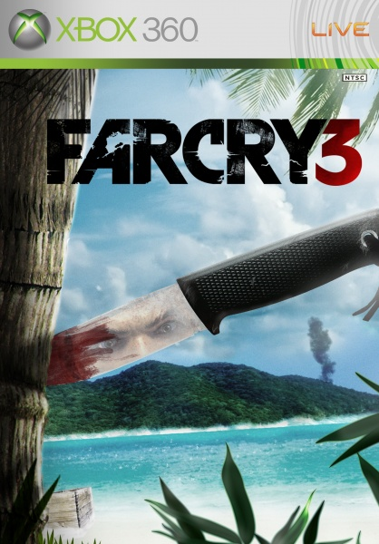 Far Cry 3 Xbox 360 Box Art Cover by SimpleWig