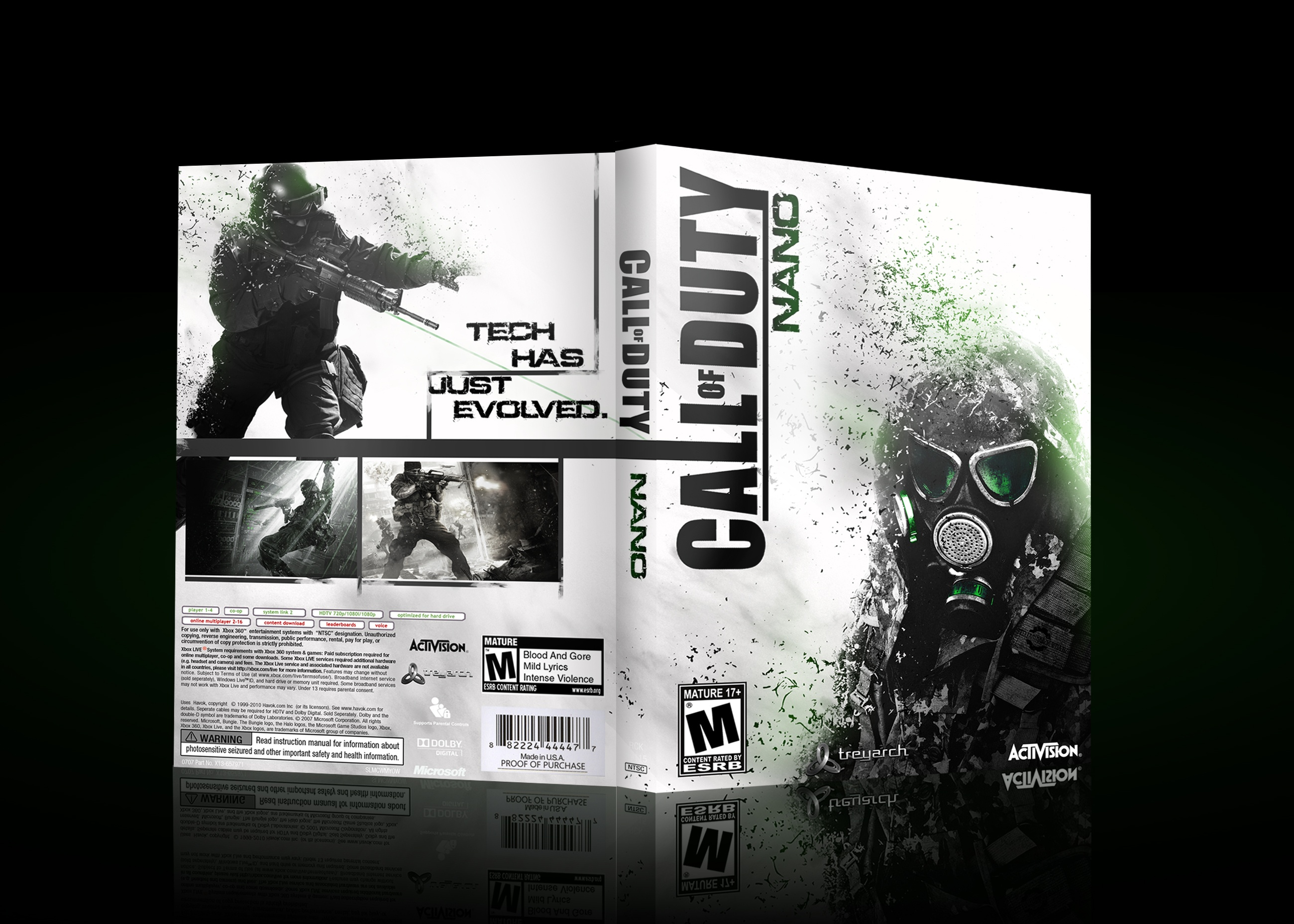 Call of Duty Nano box cover