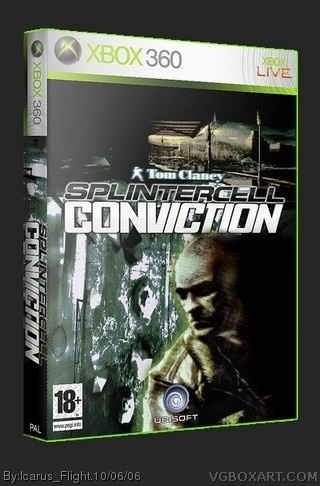 Tom Clancy's Splinter Cell: Conviction box cover