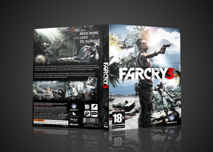 Far Cry 3 box art cover