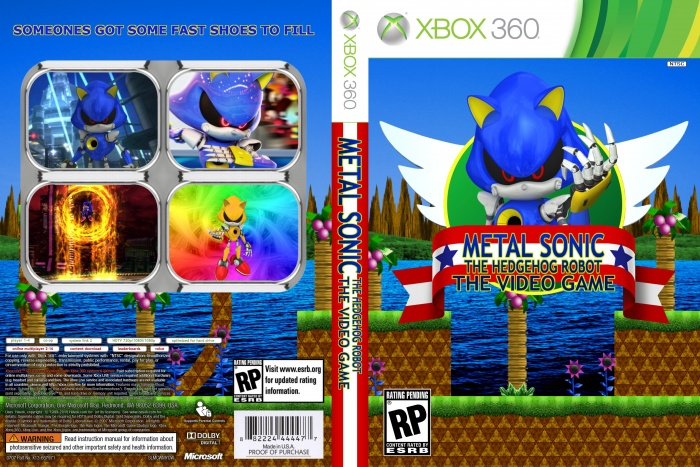 Metal Sonic:The Video Game box art cover