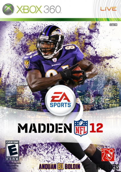 Madden NFL 12 box cover