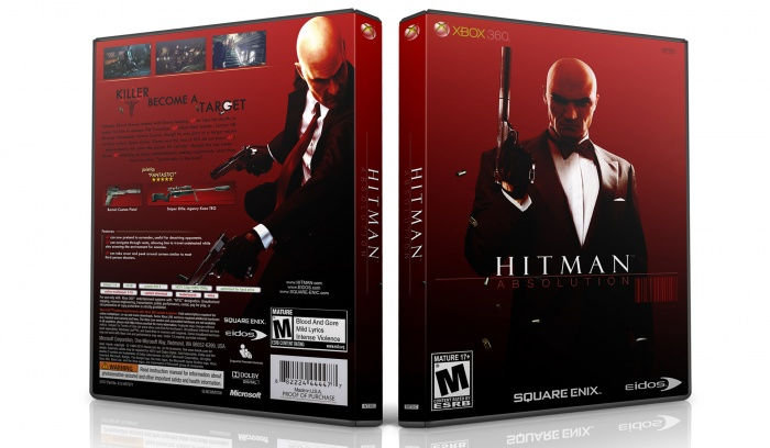 Hitman Absolution Fuse Box : Hitman absolution xbox box art cover by zalayetta