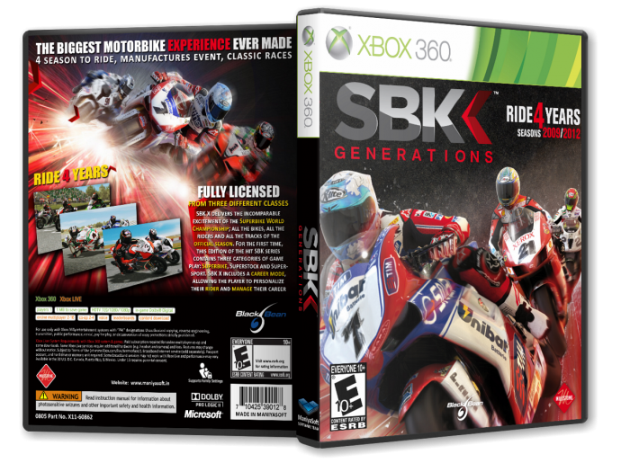 SBK Generations box art cover