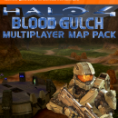Halo 4 Blood Gulch DLC Box Art Cover