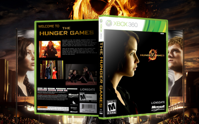 Xbox 360 T Games : Hunger games game xbox