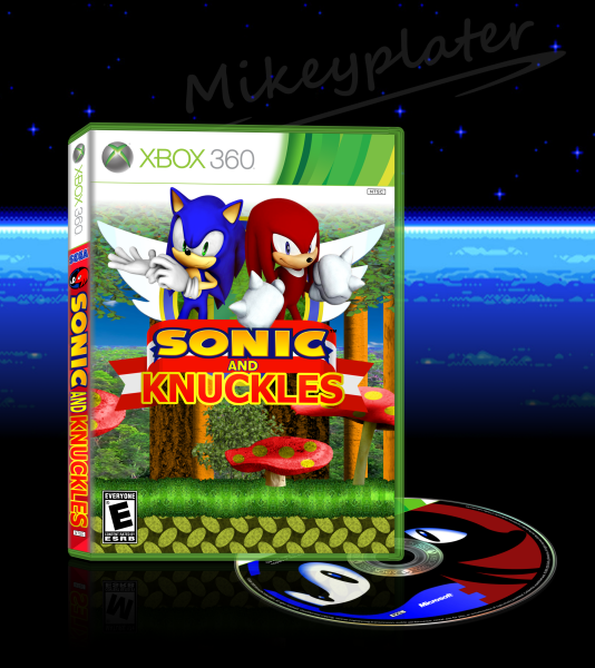 Sonic and Knuckles box art cover