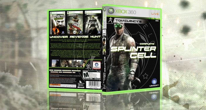 Splinter Cell Complete box art cover