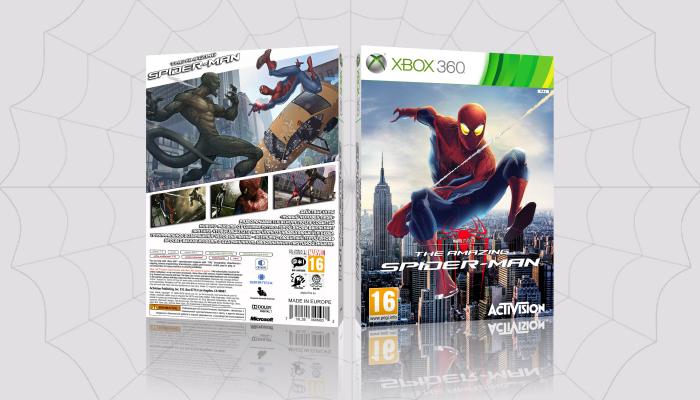 Xbox 360 » The Amazing Spider-Man Box Cover