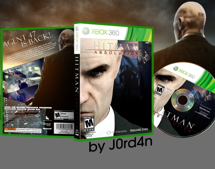 Hitman Absolution Fuse Box : Hitman absolution xbox box art cover by j rd n