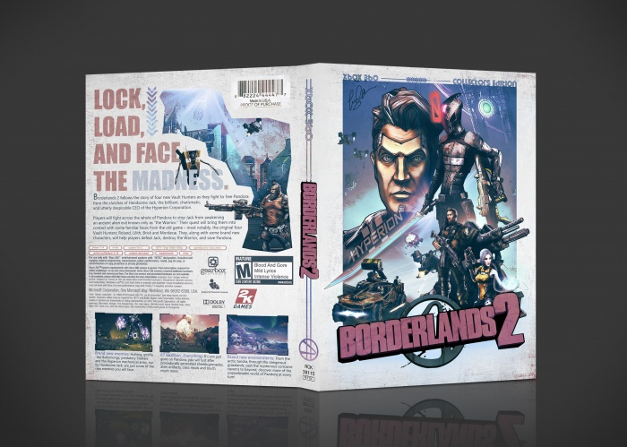 Borderlands 2 Collectors Edition box art cover