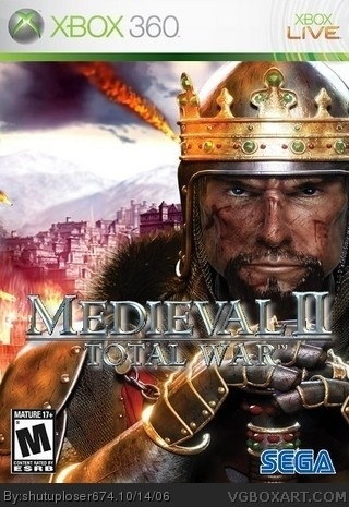 Medieval II: Total War box cover