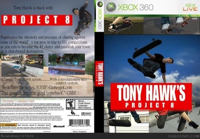 8 tony project