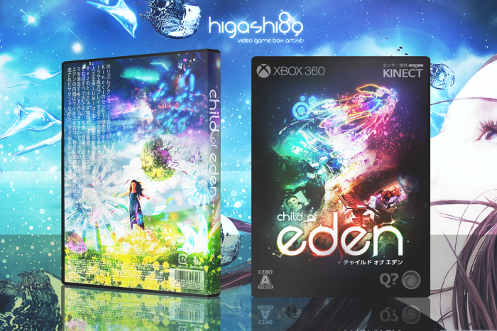 Child of Eden box art cover