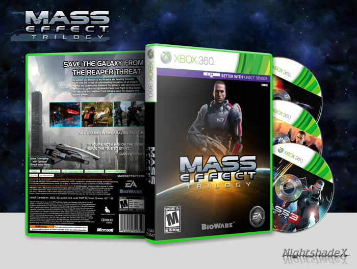 Mass effect trilogy for xbox 360 | gamestop.