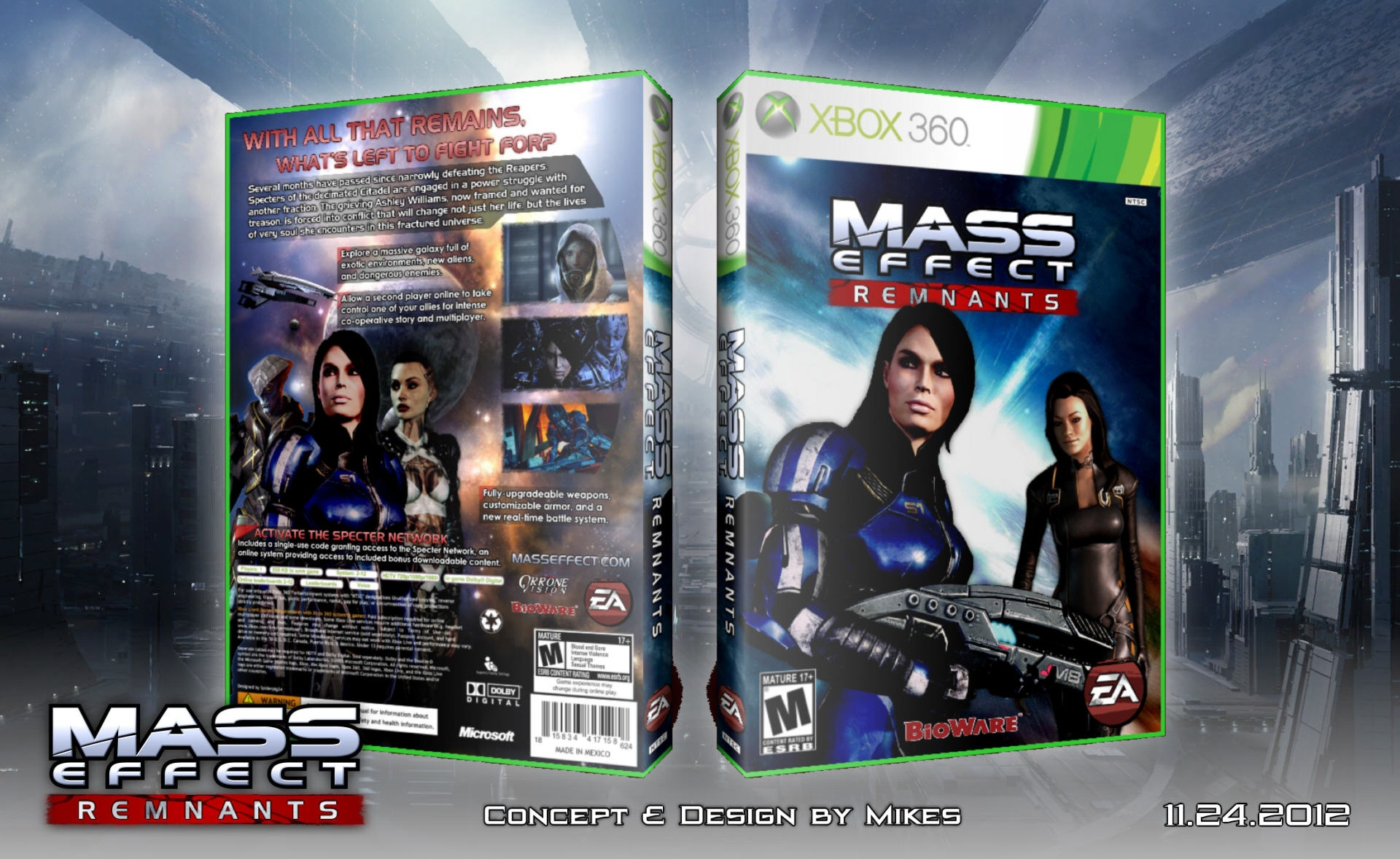 Mass Effect Remnants box cover