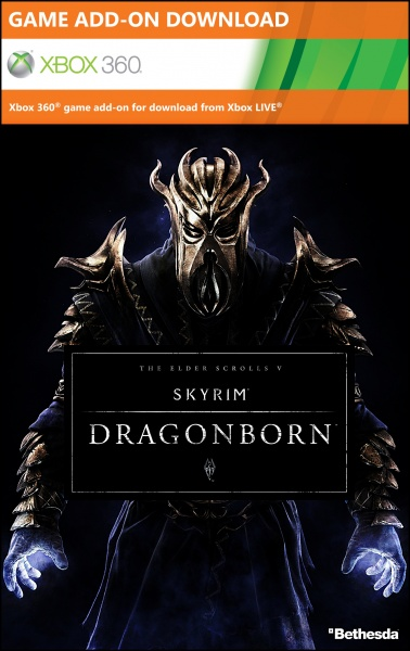 The Elder Scrolls V: Skyrim: Dragonborn box art cover