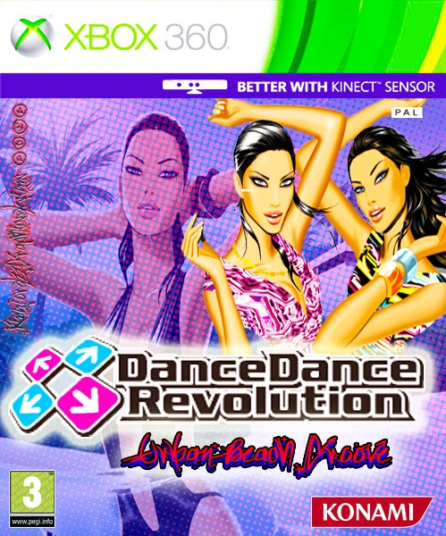 Dance Dance Revolution - Urban Beach Groove box cover