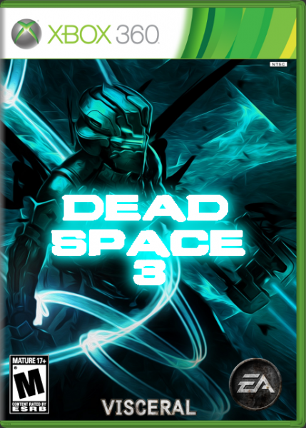 Dead Space 3 box cover