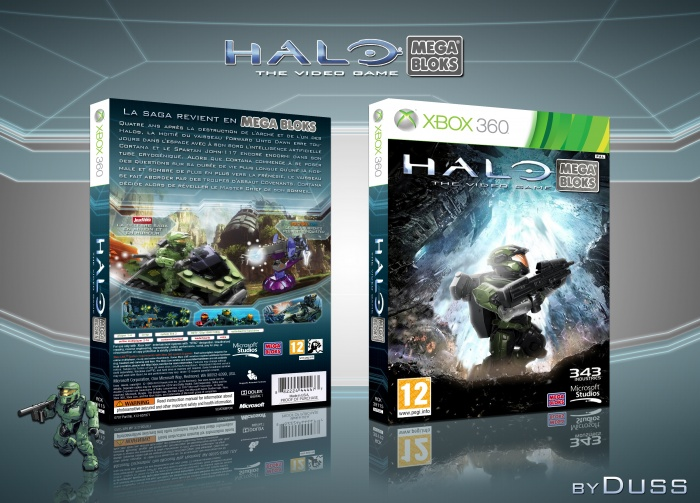 Halo Mega Bloks box art cover