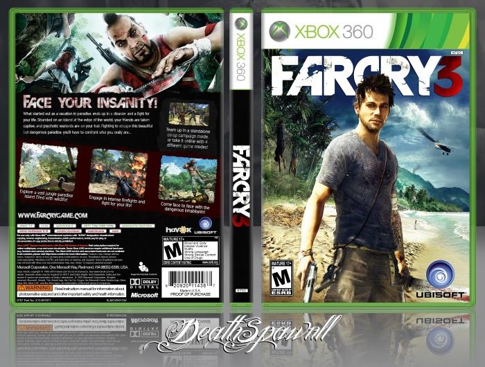 Far Cry 3 Xbox 360 Box Art Cover by DeathSpawn11