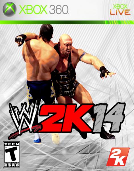 WWE 2K14 box art cover