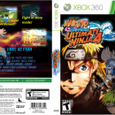 Naruto Shippuden Ultimate Ninja 4 Box Art Cover