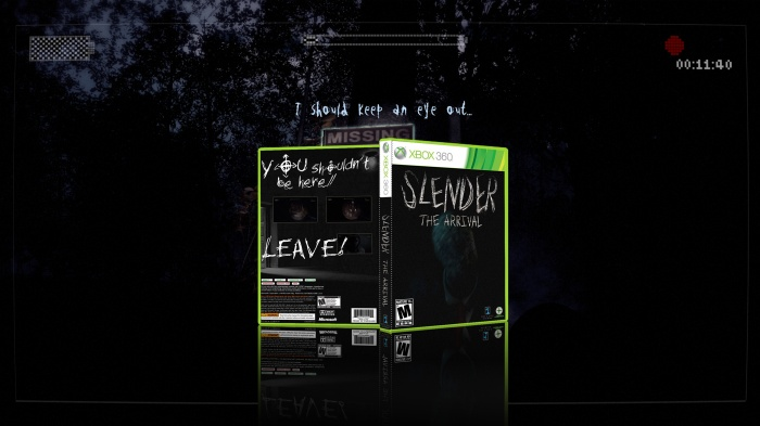 Slender: The Arrival box art cover