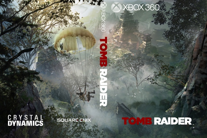 Tomb Raider 2013 Xbox 360 Box Art Cover by overlord666