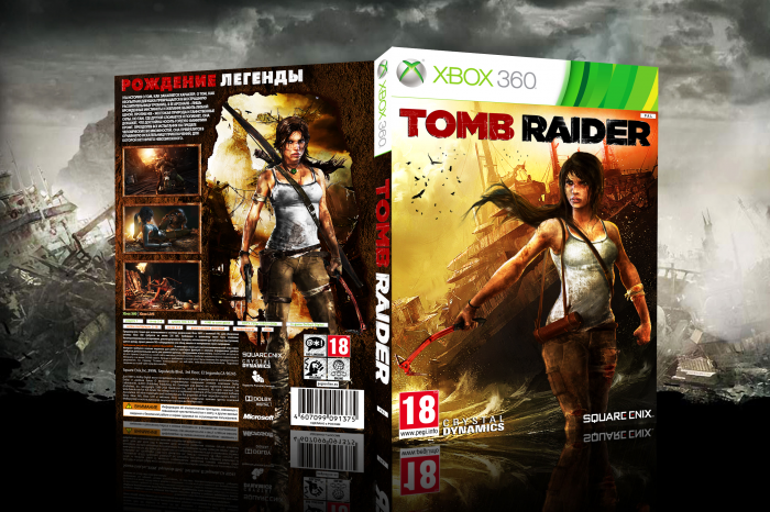 Tomb Raider 2013 box art cover