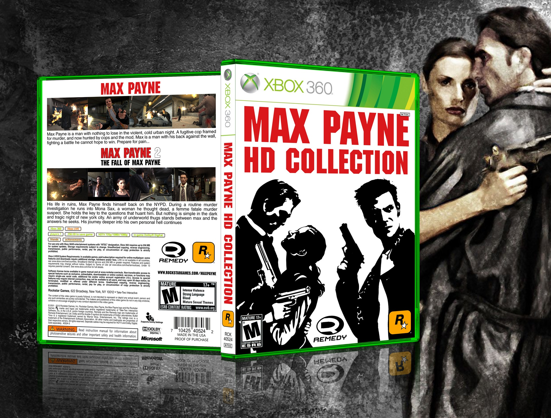 Viewing Full Size Max Payne Hd Collection Box Cover