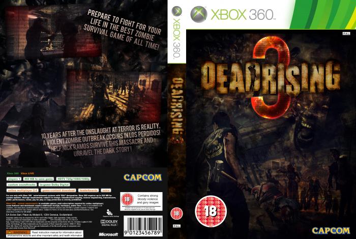 Dead Rising 3 Xbox 360 Box Art Cover by 00Mattt