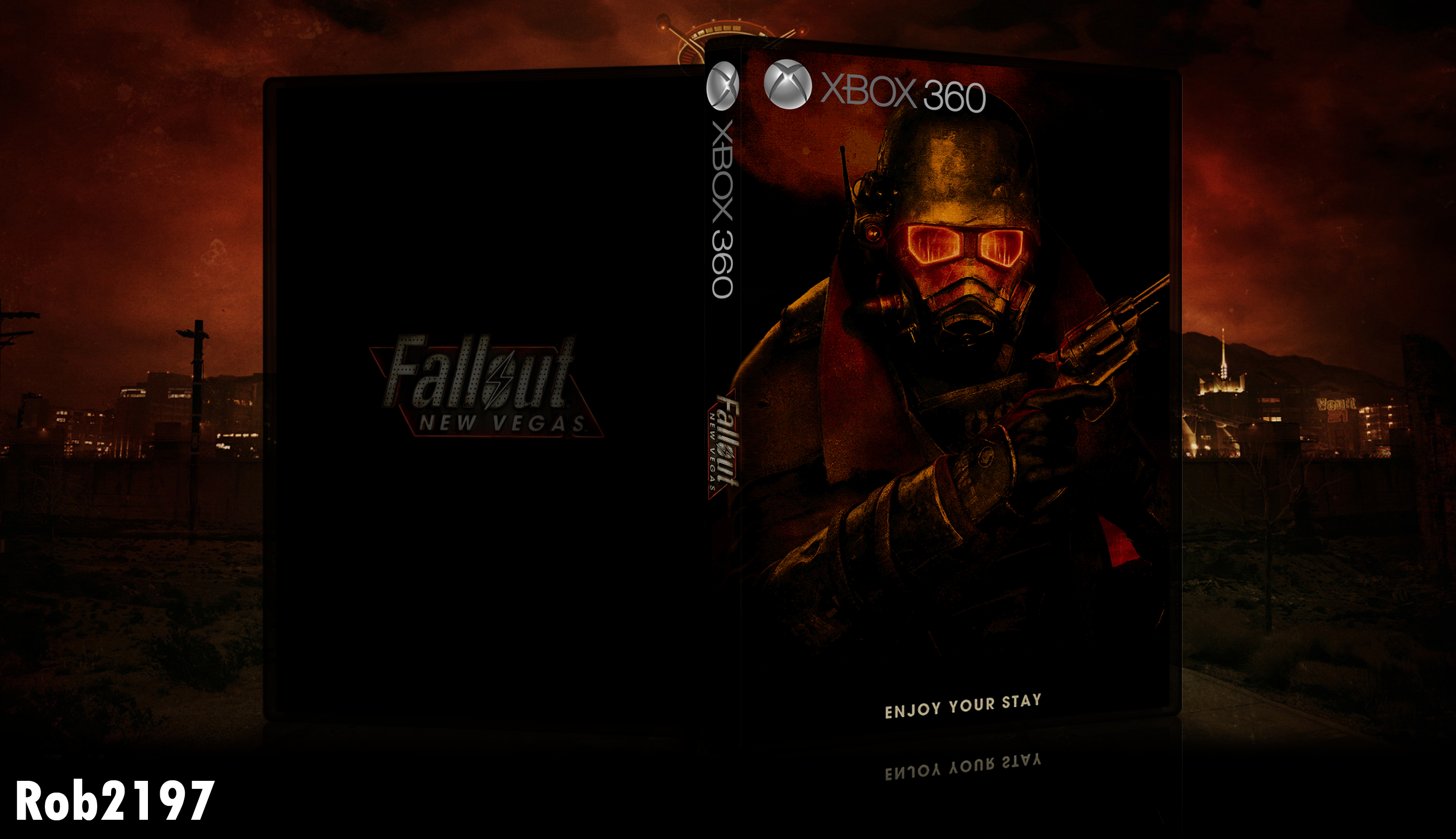 Fallout: New Vegas box cover