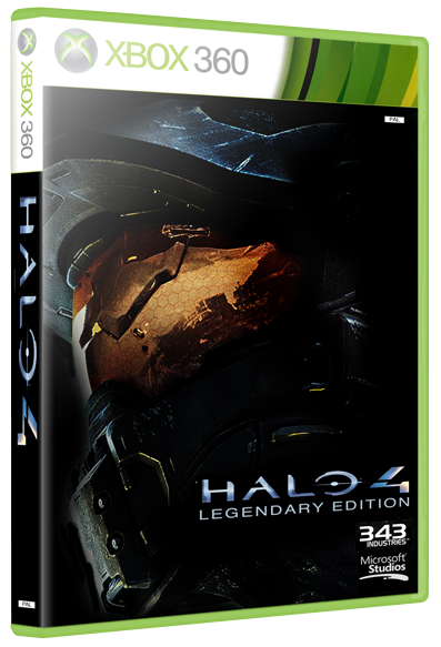 Halo 4 box cover