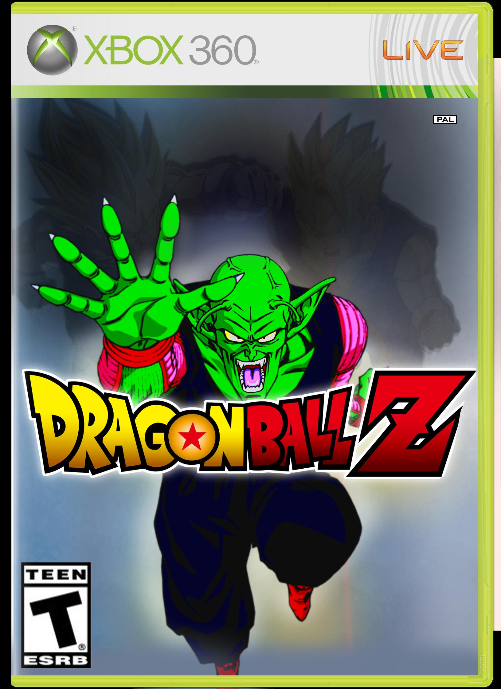 Dragon Ball Z Xbox 360 Box Art Cover By B S B