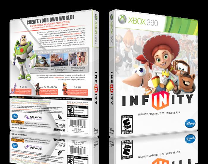 Disney Infinity Xbox 360 Box Art Cover By Lastlight