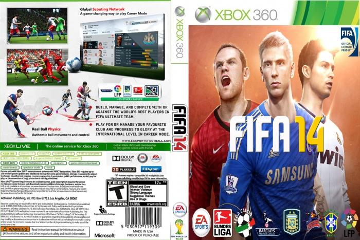 Fifa 14 Cover Xbox One FIFA 14 box art cover