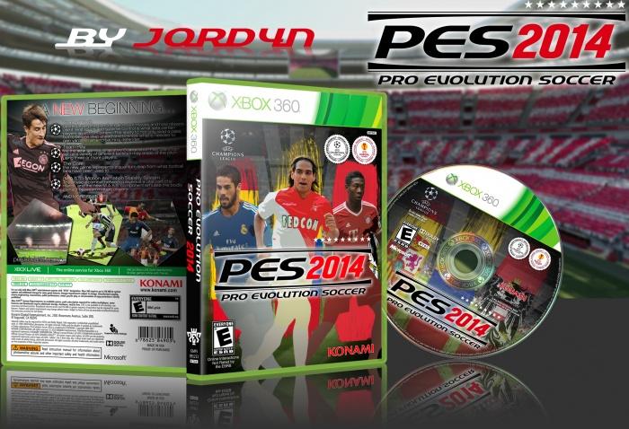 Pro Evolution Soccer 2014 Xbox 360 Box Art Cover by J0rd4n