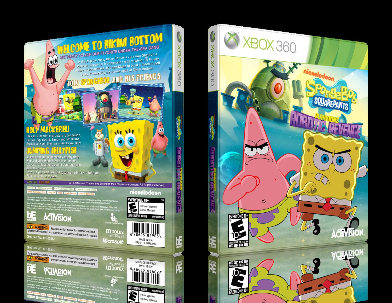 Viewing full size SpongeBob S.P.: Plankton's Robotic ...