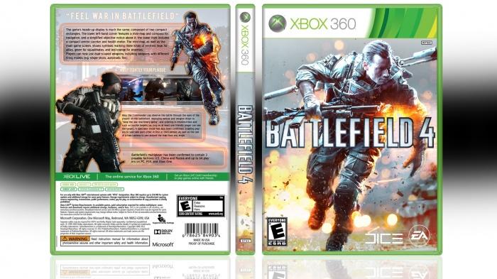 battlefield 4 xbox 360 box art cover by looop