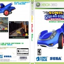 Sonic And Sega All Stars Racing Mobile Edition Box Art Cover
