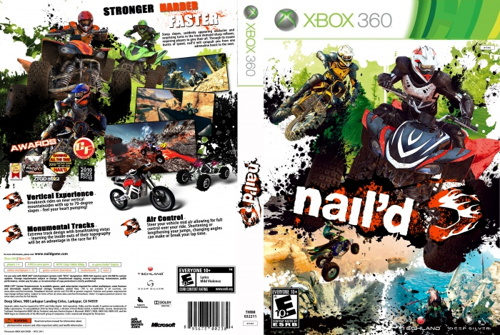Nail'd (Microsoft Xbox 360, 2011) | eBay