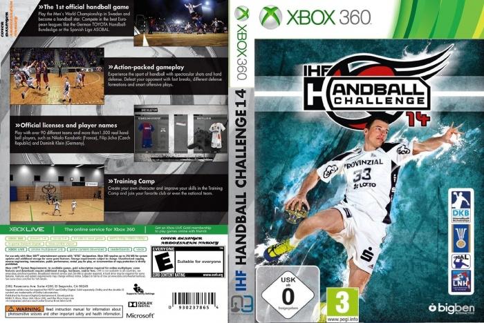 IHF Handball Challenge 14 Xbox 360 Box Art Cover by ABDOLSALAM