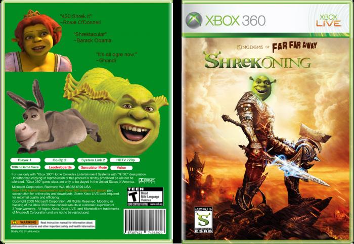 DreamWorks Shrek the Third Box Shot for Xbox 360 - GameFAQs