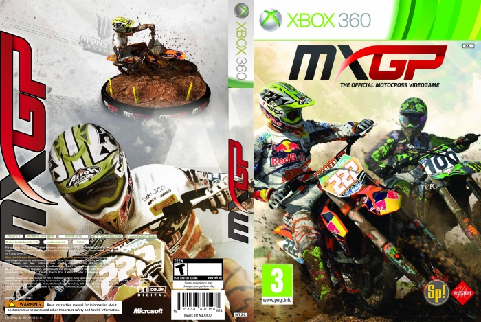 MXGP - The Official Motocross Videogame box art cover