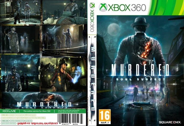 Murdered Soul Suspect box art cover