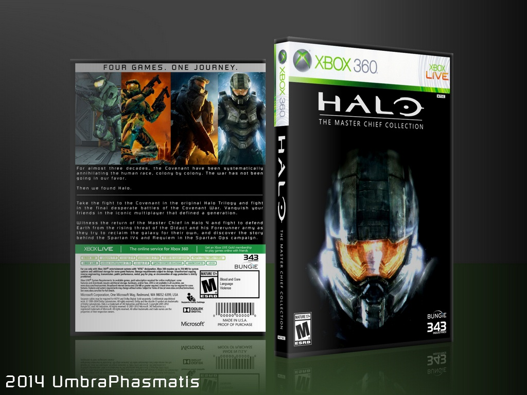 Halo: Master Chief Collection box cover