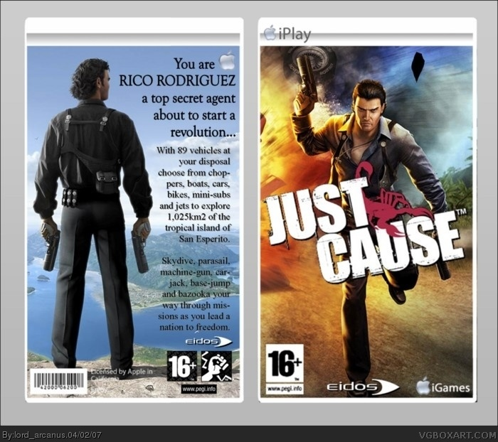 Just Cause (iPlay) box art cover